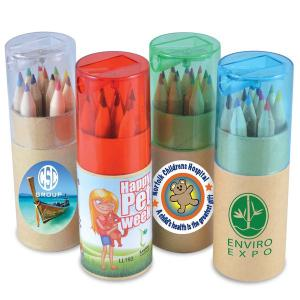 Colouring in Pencils in Tube